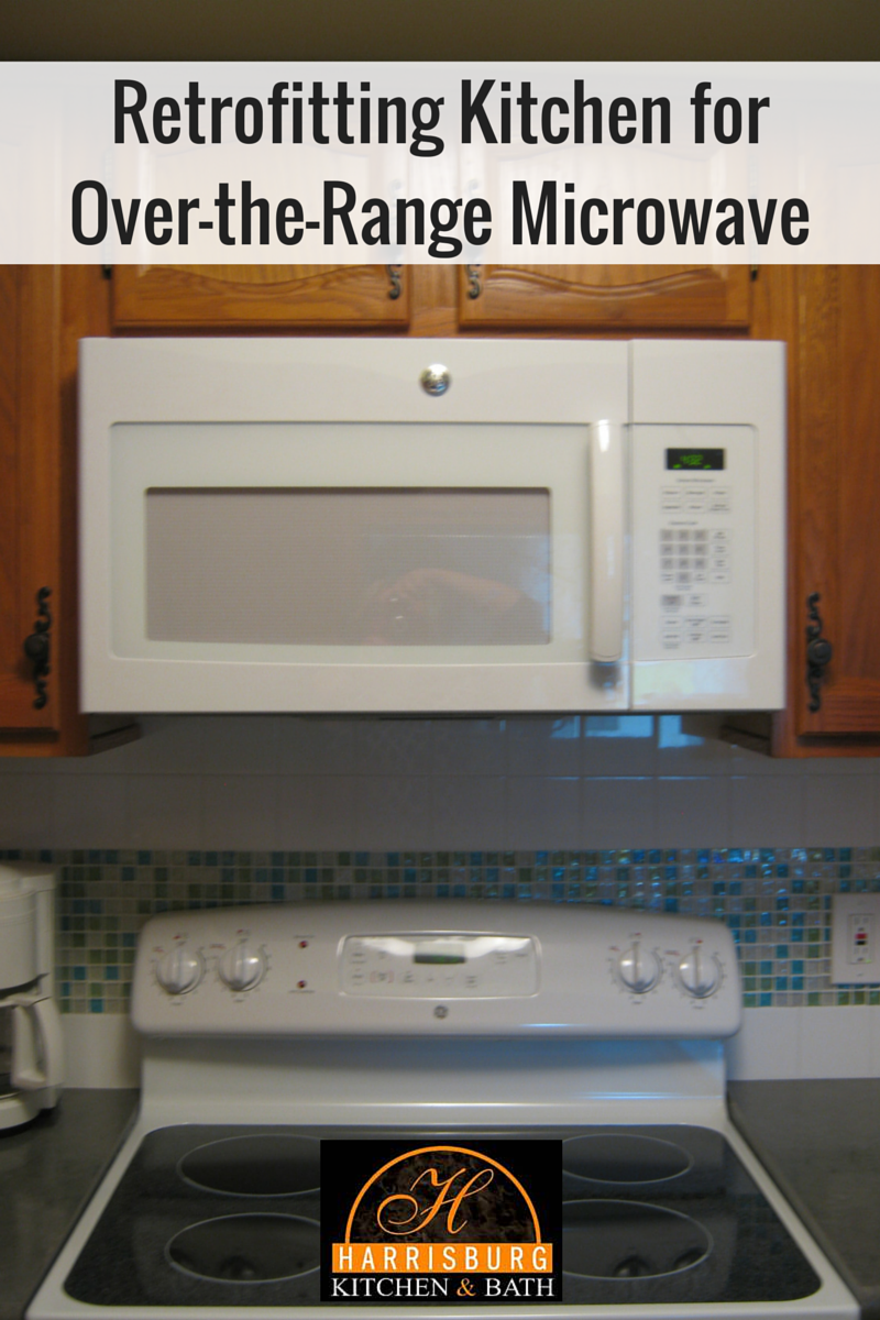 retrofitting kitchen for over the range microwave. Black Bedroom Furniture Sets. Home Design Ideas